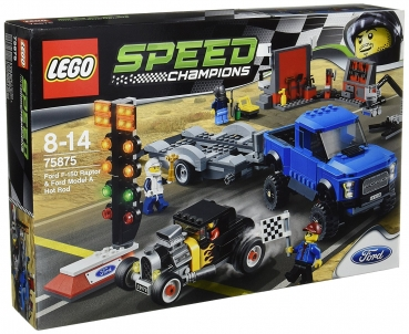75875 LEGO® Speed Champions - Ford F-150 Raptor & Ford Model A Hot Rod
