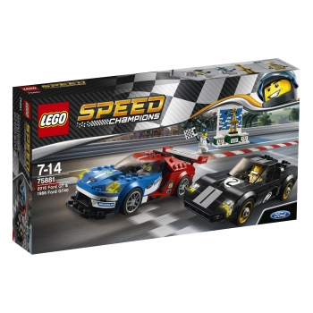 75881 LEGO® Speed Champions - 2016 Ford GT & 1966 Ford GT40