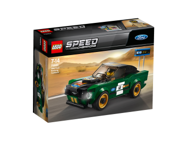 75884 LEGO® Speed Champions - 1968 Ford Mustang Fastback