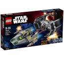 75150 LEGO® Star Wars™ - Vader's TIE Advanced vs. A-Wing Starfighter